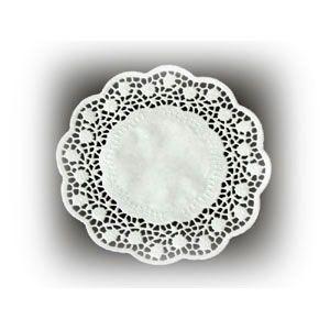 Салфетка настольная D 15см кружевная (100шт)