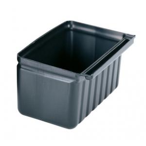Держатель для столовых приборов 9,5л к тележке 72537, пластик черный