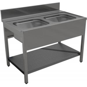 Стол входной для машин посудомоечных ENIGMA RUS Е-ВМ2П-127.3П/54/ПММ