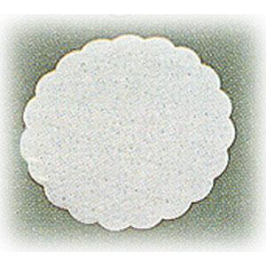 Салфетка настольная D 8см белая (20шт)
