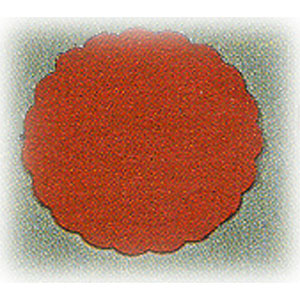 Салфетка настольная D 8см красная (20шт)