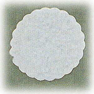 Салфетка настольная D 8,5см белая (500шт)