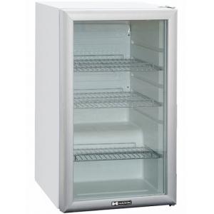 Шкаф холодильный, 105л, 1 дверь стекло, 3 полки, ножки, 0/+10С, стат.охл., белый