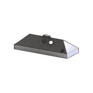 Крышка барбекю для мангала на углях Изо-Профигриль, L0.91м, нерж.сталь, термометр