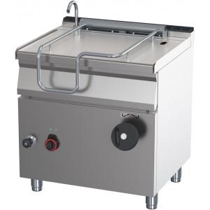 Сковорода опрокидываемая электрическая,  50л, ручное опрокидывание, нерж.сталь 430, столеш.304, дно чаши из легир.стали