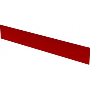 Щиток фронтальный для витрин холодильных напольных Илеть, Нова, Таир, L1.20м, красный