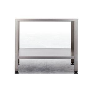Подставка для комплекта Combi-Duo пароконвектоматов XS, 634х558х555мм, без столешницы, открытая, ножки, 1 полка сплошная (Без оригинальной упаковки)