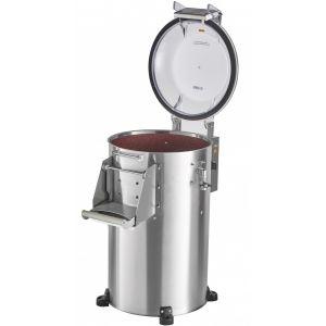 Картофелечистка электрическая, напольная, загрузка 10кг, 150кг/ч, корпус нерж.сталь, 380V (Без оригинальной упаковки)