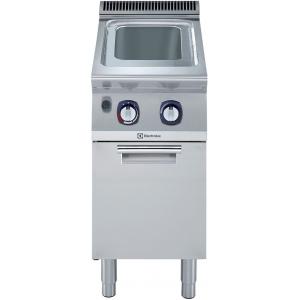 Макароноварка газовая, 1 ванна 24.5л, пьезоподжиг, стенд закрытый, 1 дверь распашная, природный газ