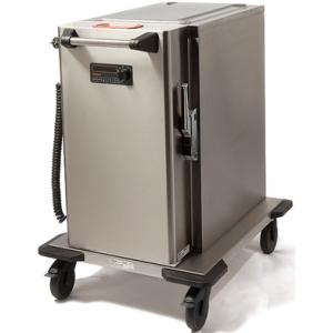 Термоконтейнер-пароконвектомат электрический,  8GN1/1-65, электронное управление, щуп, колеса, объем 78л, нерж.сталь, заливного типа