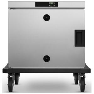 Шкаф тепловой,  5GN2/1, 1 дверь распашная глухая, +30/+120С, нерж.сталь, 220V, колёса, электрон.управление