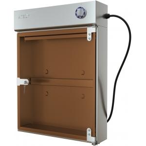 Стерилизатор ножей ультрафиолетовый, вместимость 18шт., настенный, 1 дверь стекло, решетка, планка магнитная