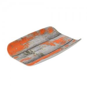 Гастроемкость 1/4х40 TURA пластик оранжевый