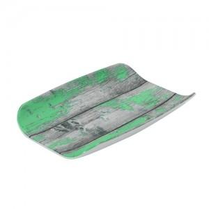 Гастроемкость 1/4х40 TURA пластик сине-зеленый