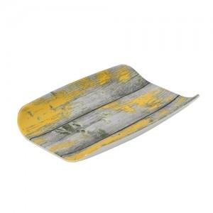 Гастроемкость 1/4х40 TURA пластик желтый