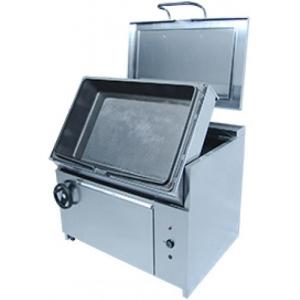 Сковорода опрокидываемая электрическая,  90л, ручное опрокидывание, нерж.сталь