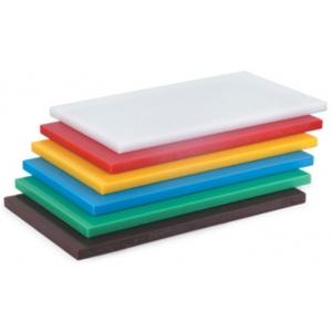 Доска разделочная L 60см w 40см h 4см, пластик белый