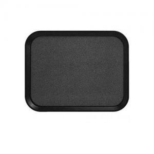 Поднос VERSA LITE L 45,7см w 35,5см прямоугольный, , из полиэфира с шероховатой резиновой поверхностью, цвет черный