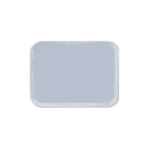 Поднос VERSA LITE, L 45,7см w 35,5см прямоуольный,  из полиэфира с шероховатой резиновой поверхностью, цвет серый на гранитном фоне