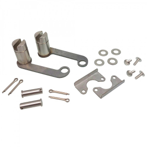 Вал корзины с крепежем (комплект из 2 шт левый и правый)