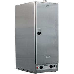 Печь-коптильня электрическая настольная, 1 камера 6GN1/1, 120л, электромех.упр, дверь глухая, 6 полок-решёток, нерж.сталь