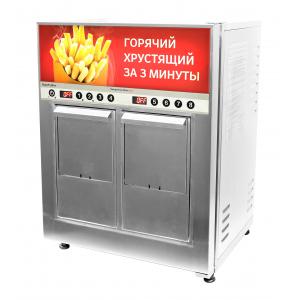 Фритюрница-автомат электрическая, 24кг/ч, 13л фритюра, 2 корзины, настольная