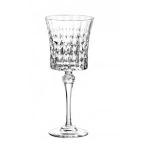 Бокал для вина 270мл D 8,8см h 21,1 см Lady Diamond, хрустальное стекло прозрачное