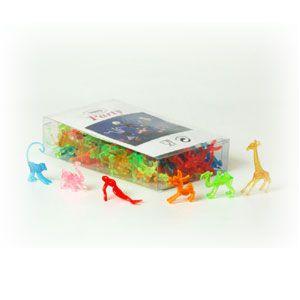 Украшение для стакана ассорти (100шт), пластик