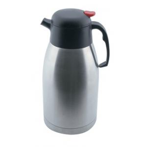 Кофейник-термос 2л , нерж. сталь, пластик