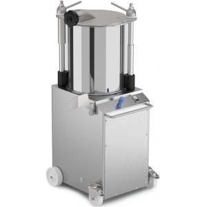 Аппарат для набивки колбас гидравлический настольный, бункер 45л, вертикальный, нерж.сталь