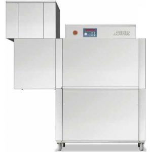 Машина посудомоечная конвейерная, 500х500мм,  70-100кор/ч, реверсивная, правая, гор.вода, доз.опол.+моющ, сушка 4.5кВт