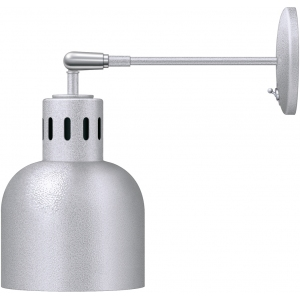 Лампа-мармит подвесная настенная, белый гранит, стержень 0.2м, лампочка прозр. б/покрытия