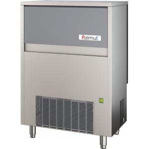 Льдогенератор для кускового льда, 100кг/сут, бункер 60.0кг, вод.охлаждение, корпус нерж.сталь, форма «кубик» М