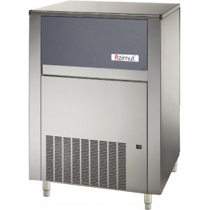 Льдогенератор для кускового льда, 155кг/сут, бункер 65.0кг, вод.охлаждение, корпус нерж.сталь, форма «кубик» М