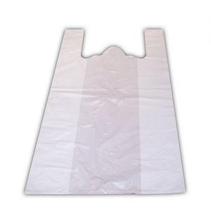 Пакет-майка 450х240х120мм полиэтилен белый