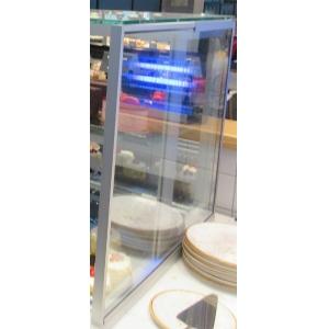 Боковина из стеклопакета, 620х600х25мм для витрины холодильной EURO COUNTER  AM1K-620-1070-630, правая