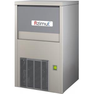 Льдогенератор для крупногранулированного льда,   55кг/сут, бункер 10.0кг, вод.охлаждение, корпус нерж.сталь