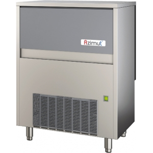 Льдогенератор для крупногранулированного льда,  142кг/сут, бункер 40.0кг, вод.охлаждение, корпус нерж.сталь, R290