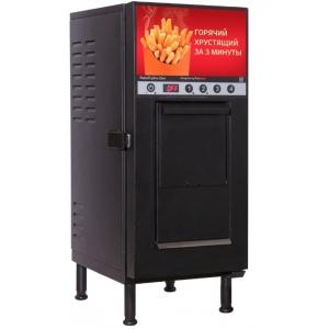 Фритюрница-автомат электрическая, 12кг/ч, 6.5л фритюра, 1 корзина, настольная, черный цвет