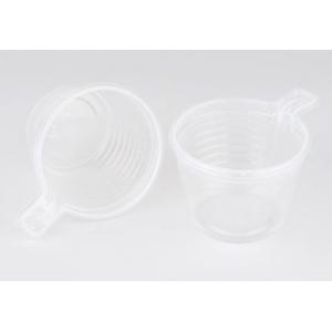 Чашка кофейная 180мл пластик прозрачный