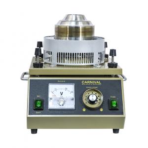 Аппарат сахарной ваты, вертикальная подача, 5кг/ч, пласт. ловитель 50 см, ТЭН, цвет корпуса золотистый