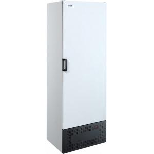Шкаф холодильный,  370л, 1 дверь глухая, 4 полки, ножки,  -6/+6C, дин.охл., белый, агрегат нижний