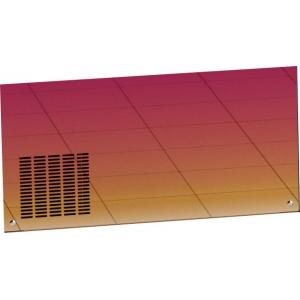 Панель фронтальная декоративная для ПВВ(Н)-70Х линии раздачи Hot-Line, L1.12м, красное золото