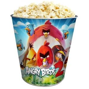 Жестяное ведро для попкорна «Angry Birds в кино 2», 130 унций/3.80л.
