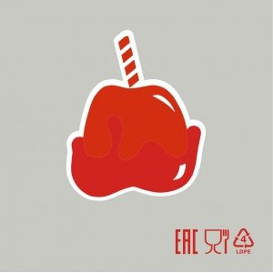 Пакет для карамелизированных яблок, без завязок (100шт) (Уценённое)