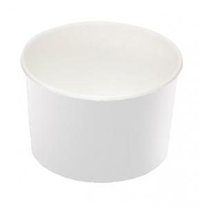 Креманка для мороженого 250мл бумага белая