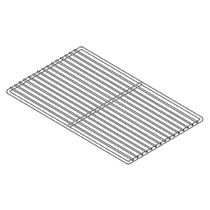 Решетка для холодильного шкафа 700л, 1400л (530х650мм)