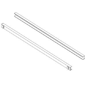 Направляющие для шкафов холодильных и морозильных серии OASIS 700 и OASIS 1400, U-образные, комплект 2шт.