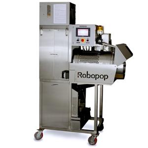 Попкорн-аппарат автомат., сенс.упр., сист. подачи соли/масла (Уценённое)
