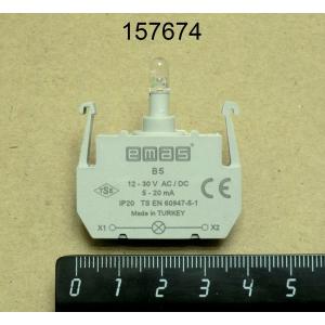 Блок-контакт подсветки 10...30 VAC/VDC